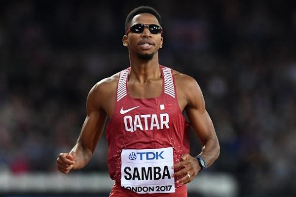 وعد القطري عبد الرحمن سامبا بتحقيق ذهبية في سباق 400 م حواجز