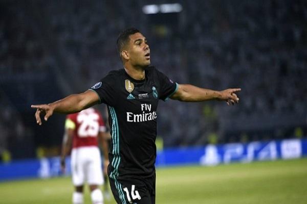 هدف كاسيميرو في السوبر الأوروبي يمنح ريال مدريد رقماً قياسياً