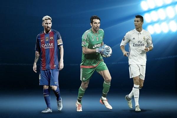 رونالدو ينافس ميسي وبوفون على جائزة أفضل لاعب في أوروبا