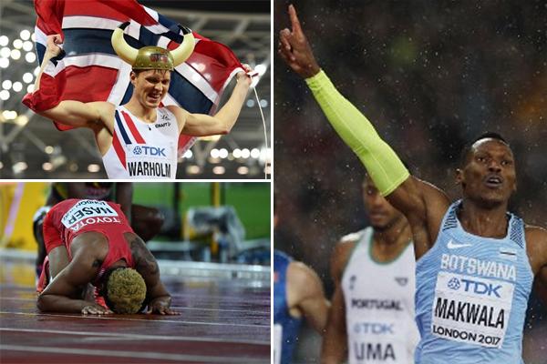 كان العداء البوتسواني اسحاق ماكوالا نجم اليوم السادس من بطولة العالم لالعاب القوى من دون احراز ميدالية او خوض سباق نهائي