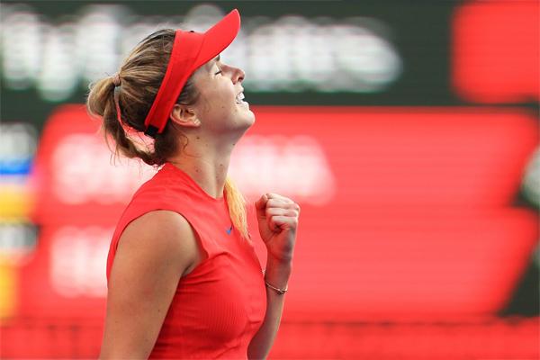 تقدمت الاوكرانية ايلينا سفيتولينا الى المركز الرابع في التصنيف العالمي للاعبات المحترفات في كرة المضرب