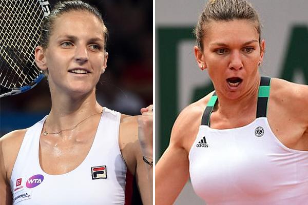 ستكون الفرصة قائمة أمام بليسكوفا وهاليب لانتزاع صدارة تصنيف المحترفات خلال دورة سينسيناتي الاميركية لكرة المضرب