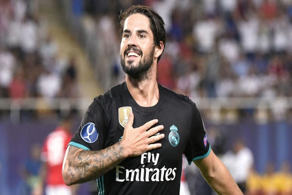 تعرف على تفاصيل عقد إيسكو الجديد مع ريال مدريد