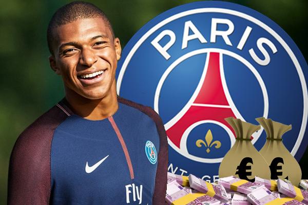 ضم نادي باريس سان جرمان الفرنسي لكرة القدم لاعب موناكو كيليان مبابي في صفقة تقدر بـ 180 مليون يورو