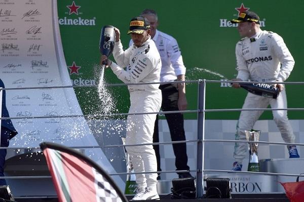 هاميلتون يحرز سباق إيطاليا ويتصدر ترتيب بطولة العالم