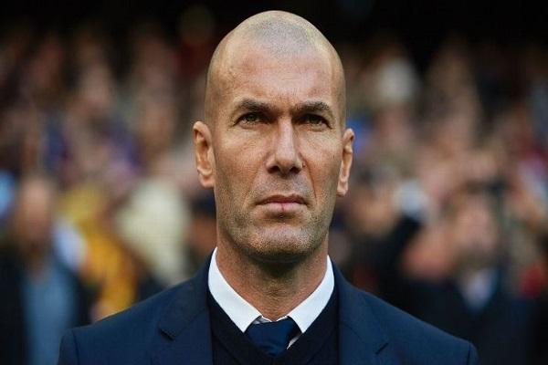 المدرب الفرنسي لريال مدريد زين الدين زيدان