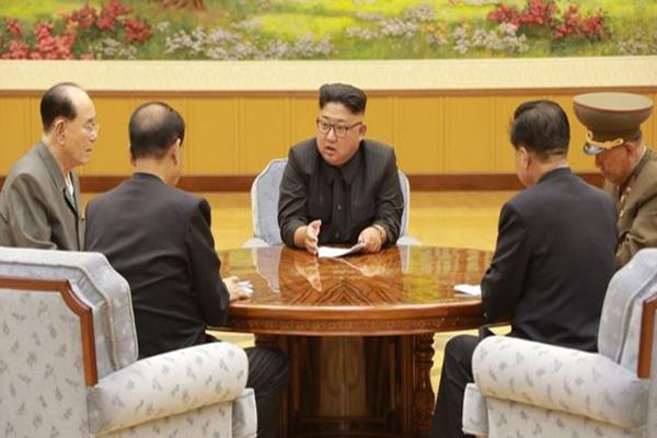 الولايات المتحدة هددت بعملية عسكرية في كوريا الشمالية
