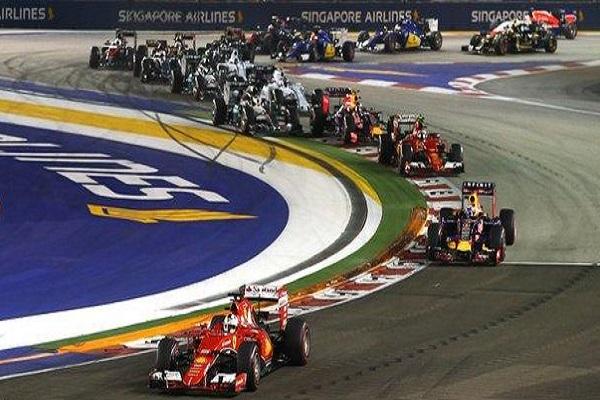تمديد عقد جائزة سنغافورة الكبرى حتى عام 2021