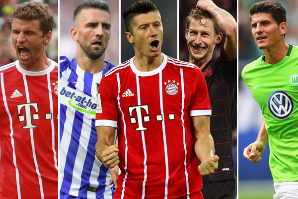 اعتلى الدولي البولندي روبرت ليفاندوفسكي مهاجم نادي بايرن ميونيخ صدارة ترتيب أفضل الهدافين في الدوري الألماني