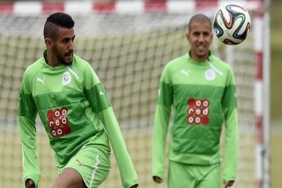 محرز وسليماني خارج تشكيلة الجزائر في تصفيات المونديال