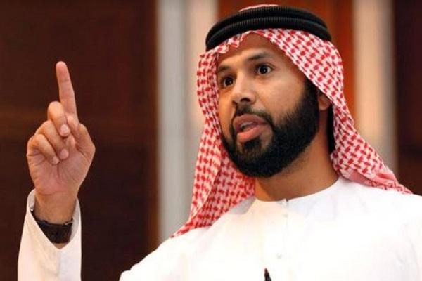 رئيس اتحاد كرة القدم الإماراتي مروان بن غليطة