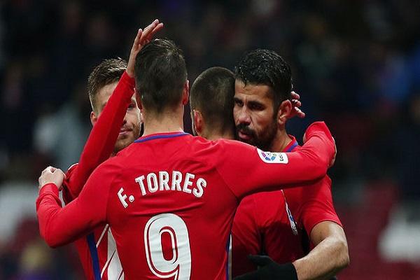 أتلتيكو مدريد أول المتأهلين إلى ربع نهائي كأس إسبانيا