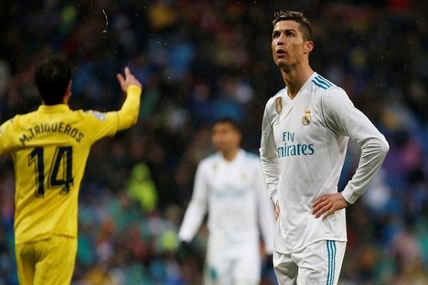 فياريال ريال يزيد محن ريال مدريد بفوز تاريخي