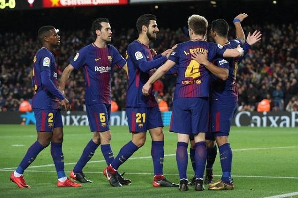برشلونة يسحق سلتا فيغو