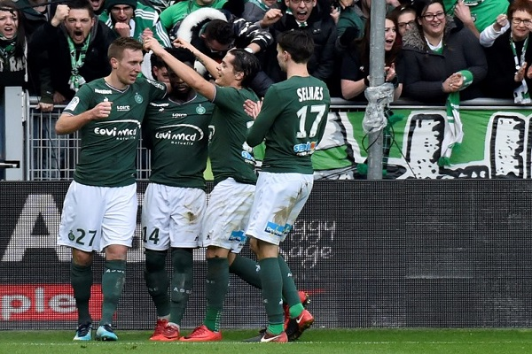 فوز أول لسانت اتيان منذ شهرين في الدوري الفرنسي