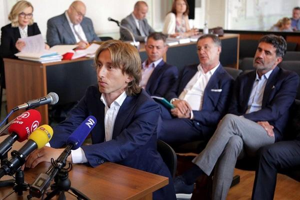 مودريتش يسدد مليون يورو لمصلحة الضرائب في اسبانيا