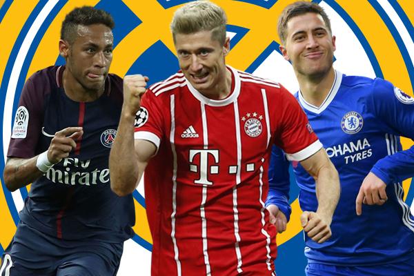 يعتبر القاسم المشترك بين المهاجمين الثلاثة هو وجود تقارير إعلامية تؤكد أن ريال مدريد يرغب في التعاقد معهم