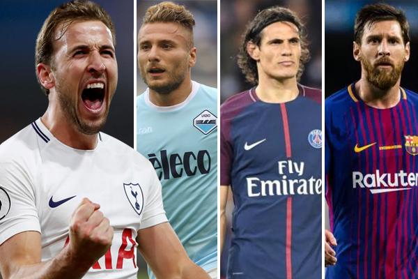 استغل هاري كين صيام كل من الأوروغوياني كافاني والإيطالي ايموبيلي عن التسجيل في الدوري الفرنسي والإيطالي
