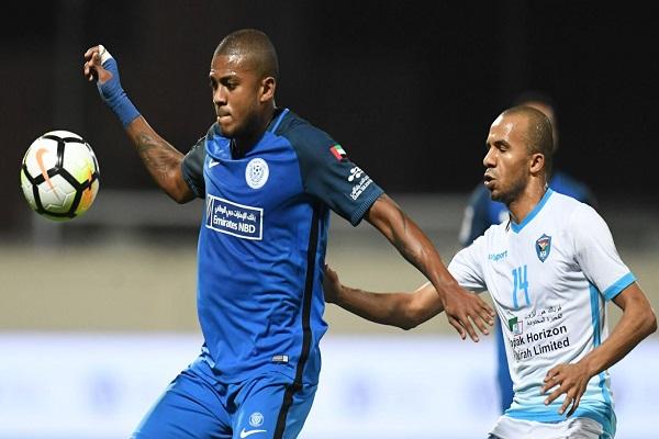 دبا الفجيرة يخرج النصر ويكمل عقد ربع نهائي كأس الامارات