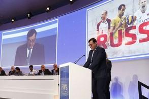 سيشكل هذا المونديال أول حدث رياضي كبير تنظمه روسيا على أرضها منذ استبعادها من الرياضة العالمية
