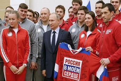 13 رياضيا روسيا مؤهلين للمشاركة في أولمبياد 2018