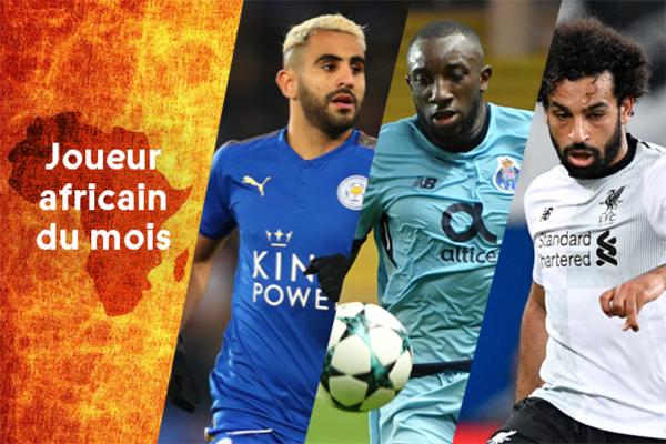 اختارت إدارة تحرير المجلة ثلاثة اسماء أفريقية تألقت مع فرقها الأوروبية خلال مباريات الشهر الماضي