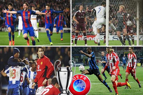 اختار الاتحاد الأوروبي 9 مباريات في ذات الدور تعتبر الأجمل و الأروع بعدما انتهت نتائجها النهائية على غير المتوقع