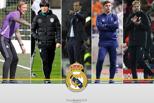 القائمة ضمت خمسة أسماء فنية مرشح أحدهم لتولي الإدارة الفنية لريال مدريد