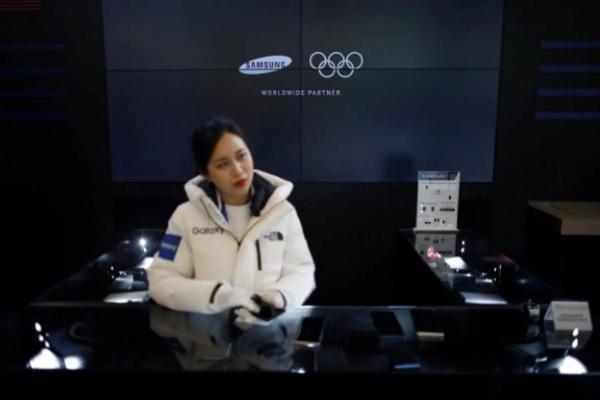 طهران تحذر سامسونغ بعد استبعاد بعثتها في الاولمبياد من تلقي هواتف مجانية