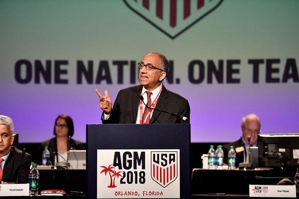كارلوس كورديرو رئيسا للاتحاد الأميركي لكرة القدم