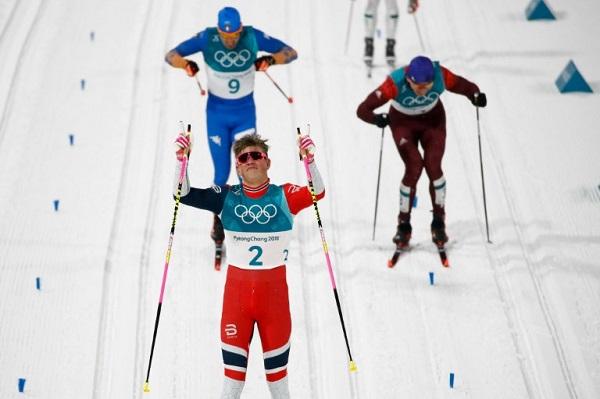 النروجي كلايبو أصغر متوج في تزلج المسافات الطويلة