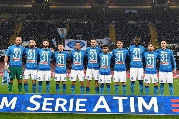 لاعبو نابولي يتضامنون مع زميلهم غلام بطريقة مميزة