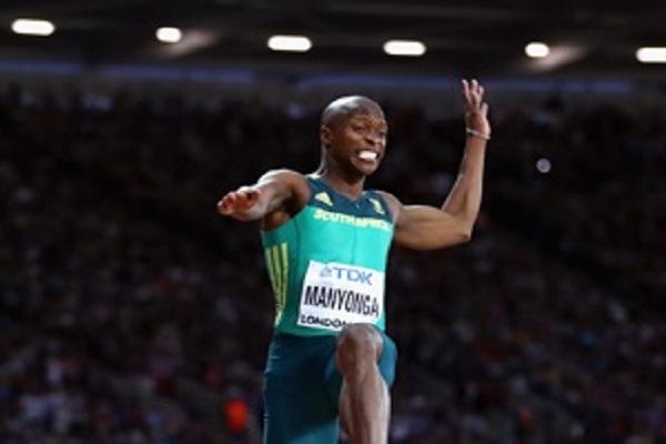 مانيونغا يسجل أفضل رقم عالمي للموسم في الوثب الطويل
