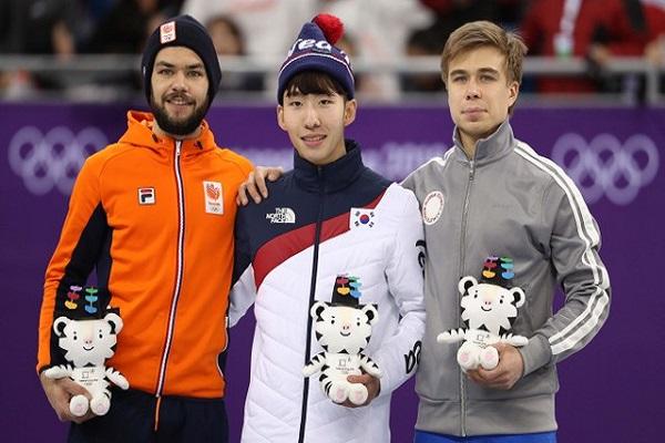 كوريا الجنوبية تفتتح رصيدها من الذهب في أولمبياد بيونغ تشانغ