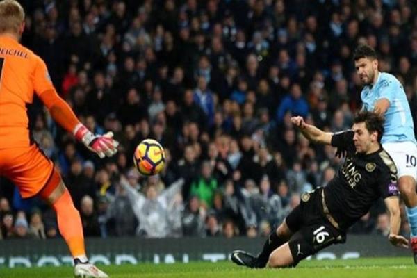 أهداف سيرخيو أغويرو بلغت 197 هدفا لصالح مانشستر سيتي