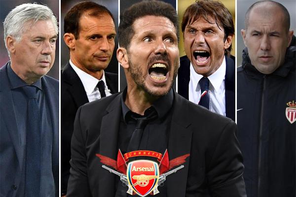 المدربين الستة تألقوا في الفترة الأخيرة مع أنديتهم ونجحوا في تحقيق أفضل نتائج والإنجازات