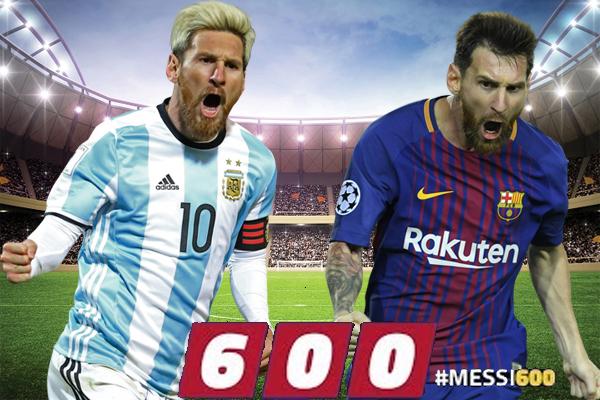 أصبح المهاجم الأرجنتيني ليونيل ميسي هداف نادي برشلونة بحاجة إلى هدفين فقط ليصل رصيده التهديفي إلى 600 هدف