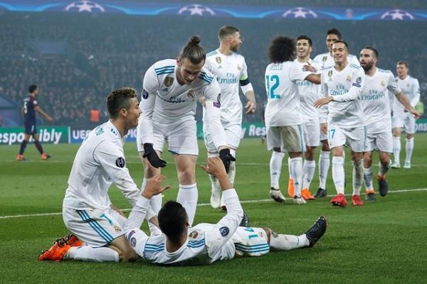 ريال مدريد يكرر فوزه على باريس ويتأهل