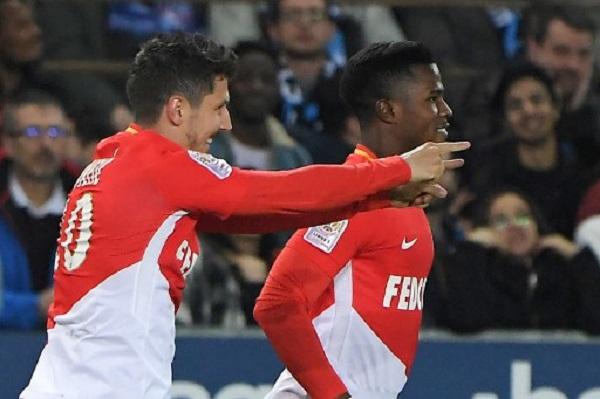 موناكو يبتعد بالمركز الثاني في الدوري الفرنسي