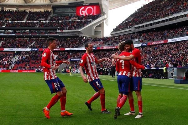 أتلتيكو مدريد يمضي بثبات نحو لقب الوصيف