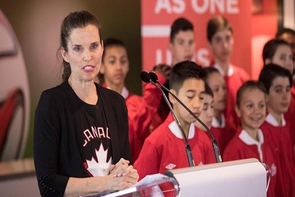 وزيرة الرياضة الكندية كيرستي دنكان