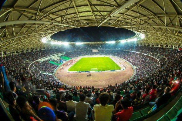 ملعب البصرة الدولي شهد مؤخرا مباراة العراق والسعودية الودية