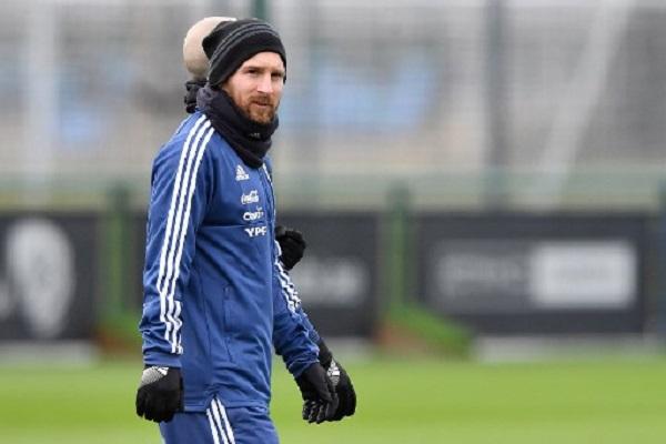 ميسي يلتحق بتمارين الأرجنتين قبل ودية ايطاليا