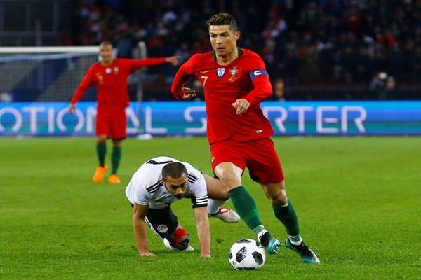 رونالدو يقلب تأخر البرتغال لى فوز قاتل على مصر