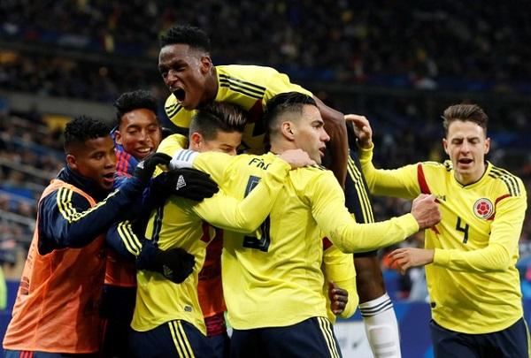 كولومبيا تفاجىء فرنسا وتهزمها في عقر دارها
