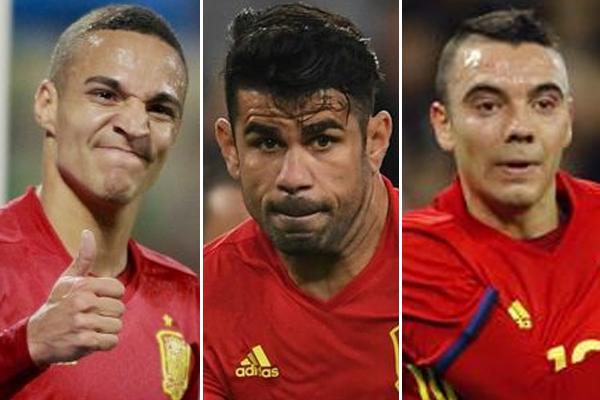 من سيكون المهاجم الاساسي في تشكيلة اسبانيا في مونديال روسيا 2018؟