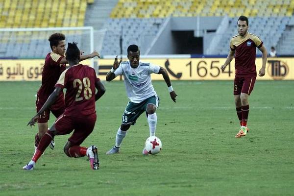 تعادل مصر المقاصة وانبي سلبا في مباراة مؤجلة بالدوري المصري