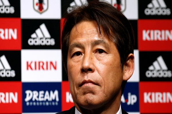مدرب اليابان الجديد يتطلع لبلوغ الدور الثاني في المونديال