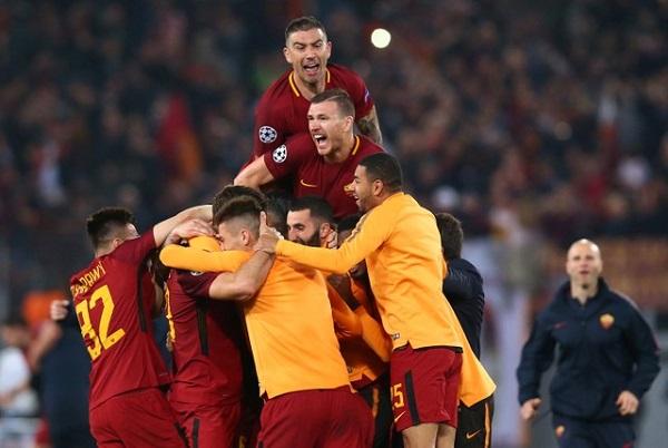 ليلة من الجنون في روما بعد إقصاء برشلونة من دوري أبطال أوروبا