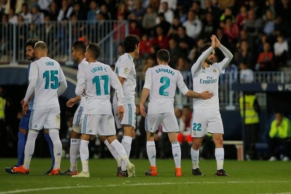 ريال مدريد ثالثا على حساب فالنسيا